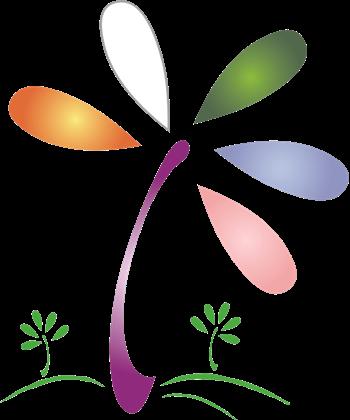 LCDD Flower Logo